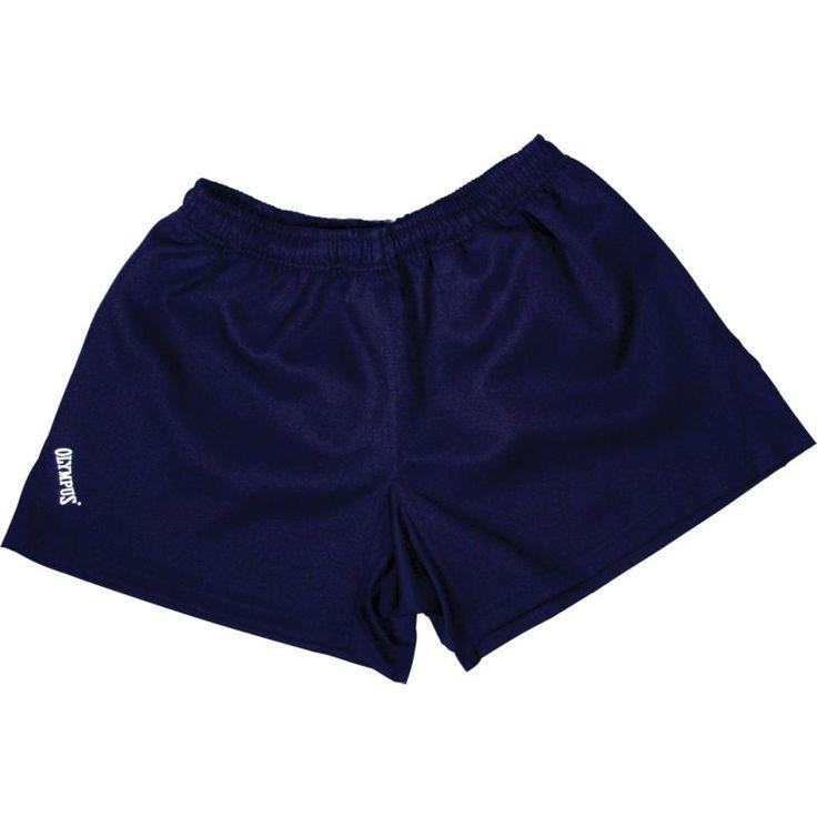 Olympus Youth Dominator Rugby Shorts, Size: Medium, Blue