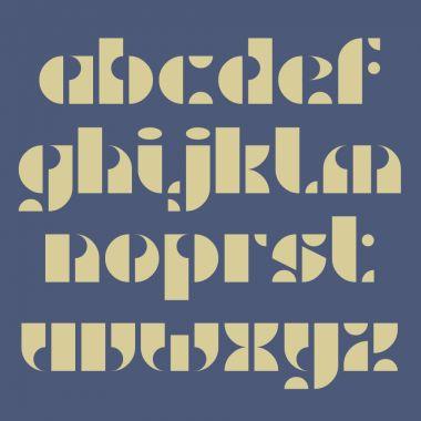 Recap Stencil font by Paul Bokslag