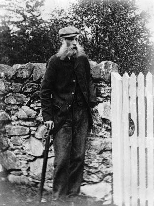 Charlie McIntosh, friend of Beatrix Potter, who probably inspired her drawings of Mr McGregor the gardener.