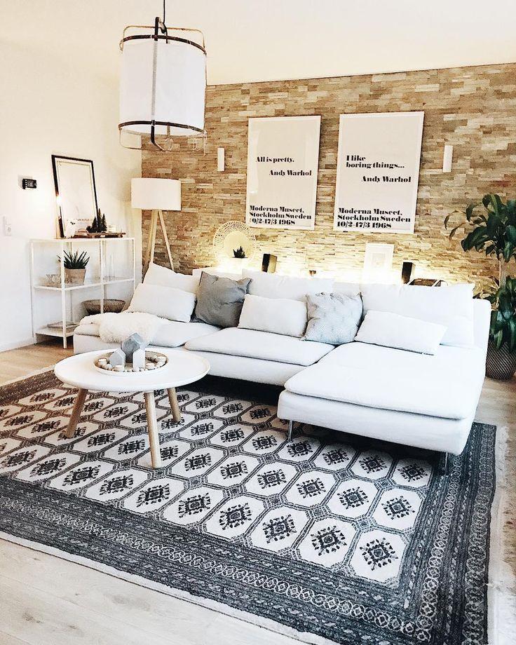 Die besten 25+ Gemusterte teppich Ideen auf Pinterest - teppich wohnzimmer grose