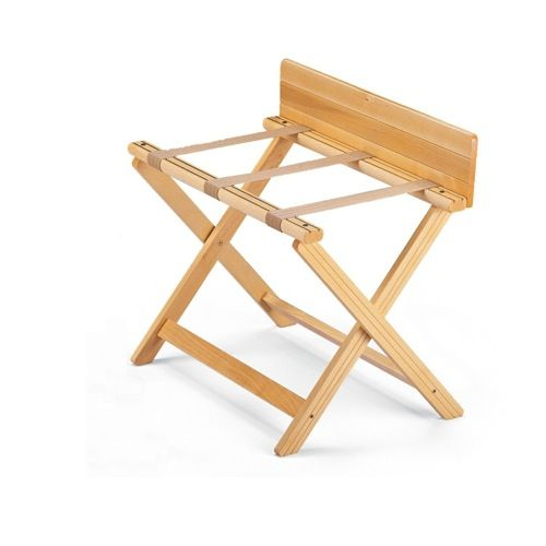 Folding Luggage Rack Aris Better Living Beech Wood Folding Luggage Rack With Back Stop 701