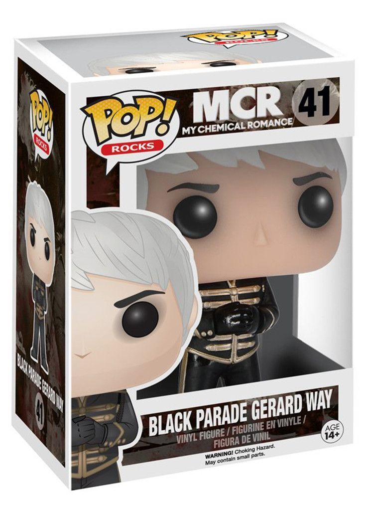 My Chemical Romance POP Vinyl Figure: Black Parade Gerard Way