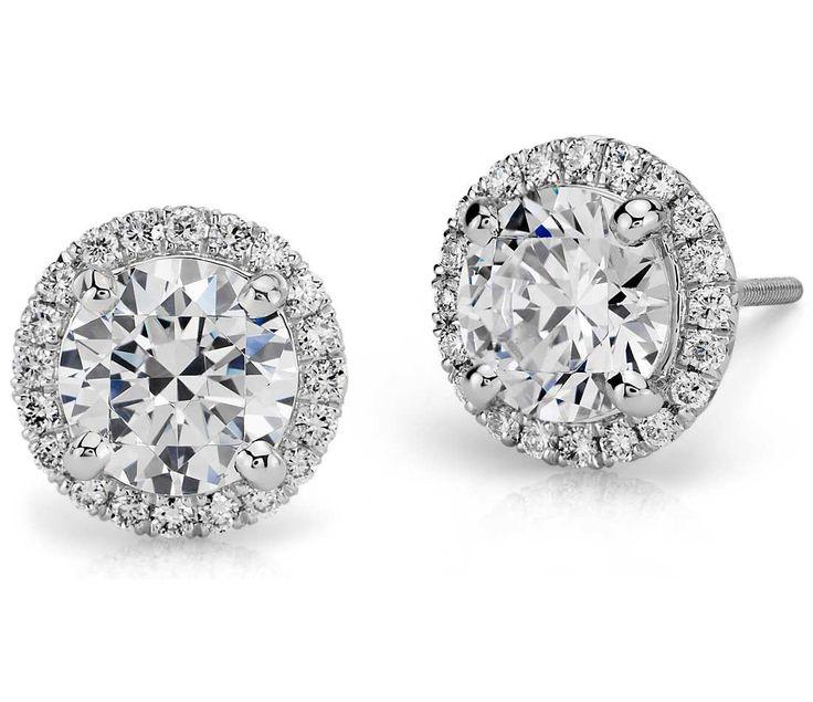 Resultado de imagen para earrings button wedding
