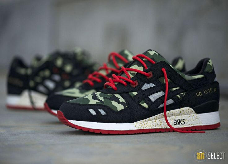 #Release #Reminder out tomorrow: #Asics #Vanquish #Gel Lyte III