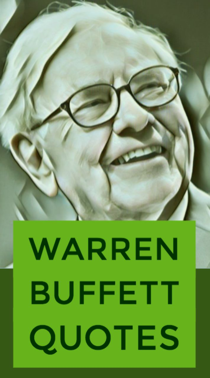 Warren Buffett's best financial advice and money quotes.