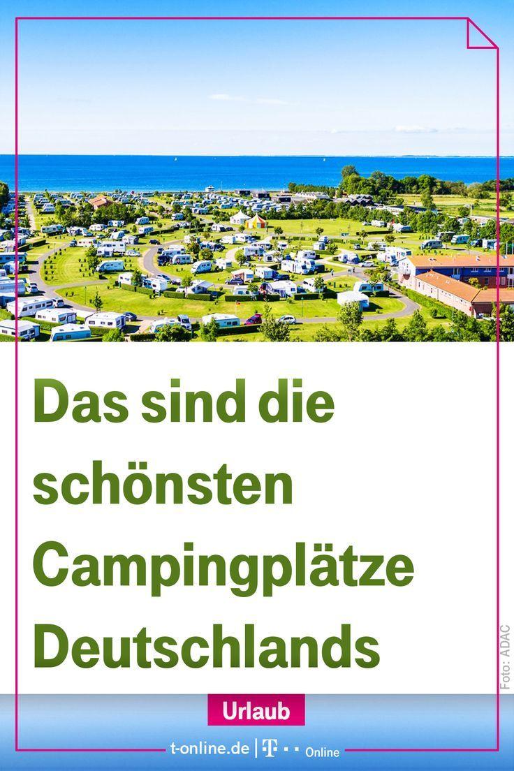 Adac Das Sind Die Super Campingplatze In Deutschland T Online De Gute Pin Campingplatze Deutschland Camping Campingplatz