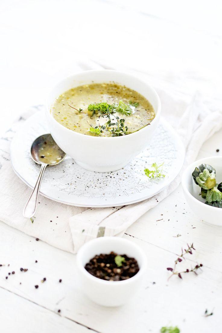 Easy Recipe Courgette Zucchini Soup