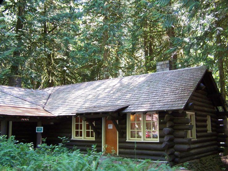 Dark Stain Cabin Cabin Homes Forest Cabin
