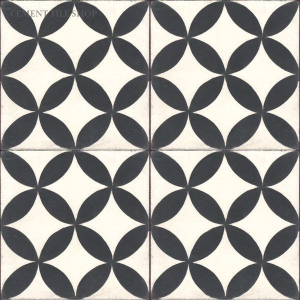 Cement Tile Shop - Encaustic Cement Tile Circulos White