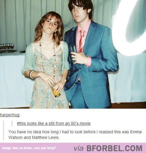 Emma Watson And Matthew Lewis…