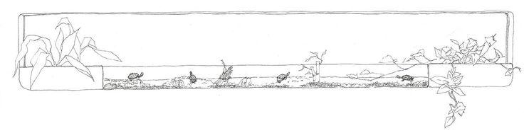 windows fishing port sketch