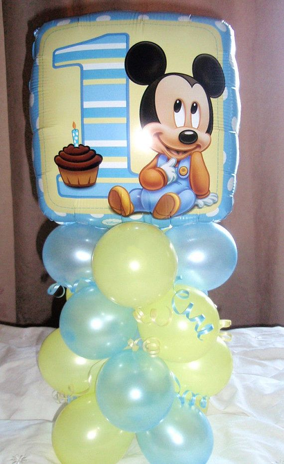 Hey, I found this really awesome Etsy listing at https://www.etsy.com/listing/228542686/baby-mickey-mouse-balloon-decoration