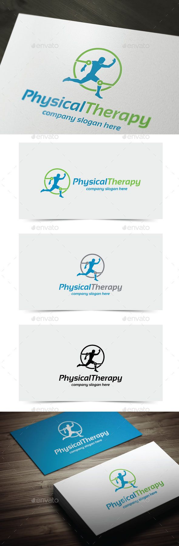 Physical Therapy Logo Template Vector EPS, AI. Download here: http://graphicriver.net/item/physical-therapy/11496749?ref=ksioks
