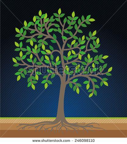 modification stylized tree image