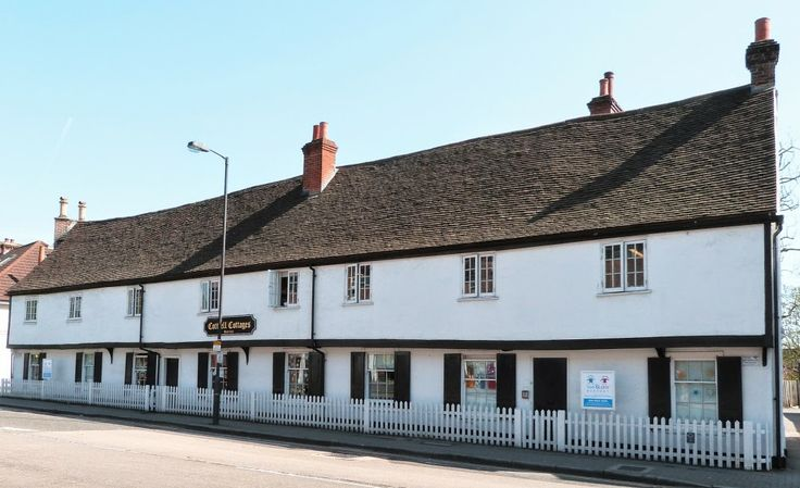 Cottrell Cottages built in 1565. Stanmore, UK