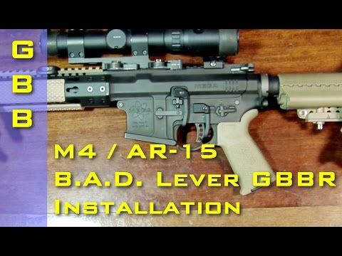 M4 / AR-15 B.A.D. Lever GBBR Installation / Установка рычага B.A.D. Lever на газовый карабин М-серии - http://fotar15.com/m4-ar-15-b-a-d-lever-gbbr-installation-%d1%83%d1%81%d1%82%d0%b0%d0%bd%d0%be%d0%b2%d0%ba%d0%b0-%d1%80%d1%8b%d1%87%d0%b0%d0%b3%d0%b0-b-a-d-lever-%d0%bd%d0%b0-%d0%b3%d0%b0%d0%b7%d0%be%d0%b2%d1%8b/