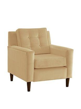 51% OFF Skyline Furniture Armchair, Velvet Buckwheat