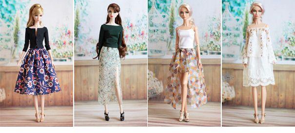 Понятно локальной сети | платья для кукол | Момоко одежда | Ниппон Мисаки одежда| Блайт одежда| Лати-желтый одежда| одежда куклы | clearlan