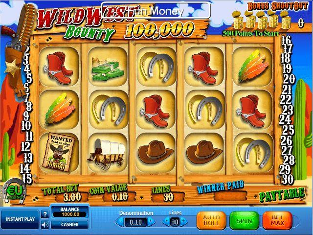 Wild West Bounty - http://freeslots77.com/pt/slot-wild-west-bounty-online-gratis - http://freeslots77.com/pt
