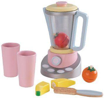 Amazon.com: KidKraft Pastel Smoothie Set: Toys & Games