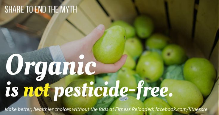 Should you buy organic? This has all the commonly associated questions and proposed benefits, and the science to back up her answer.