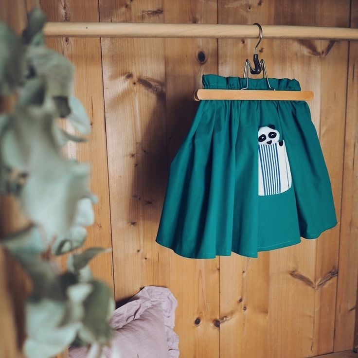 Sklep internetowy Lady Stump   Spódniczka zielona z Pandą #ladystump #skirt #skirtsummer #skirtforkids #baby #design #polanddesign