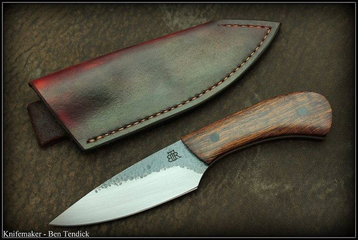 Ben tendick belt knife.