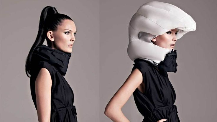 Der Hövding Fahrrad Airbag Helm schützt Dich perfekt! https://radwelt.berlin