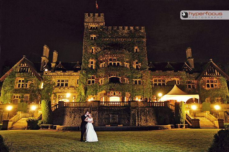 Hatley Castle in Victoria BC (offers wedding packages)---I would get married here in a heartbeat! <3