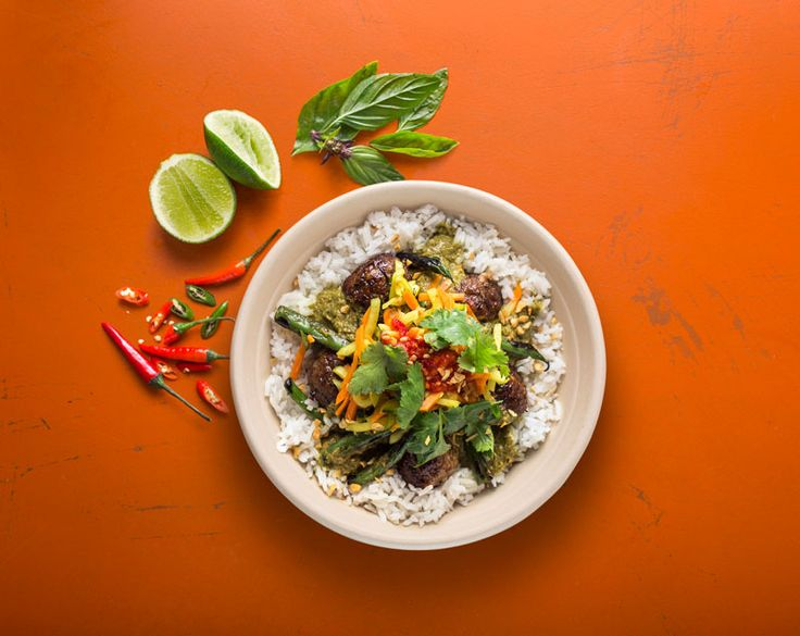 Rice bowl with Southeast asian ingredients. (Photo: Courtesy of ShopHouse Kitchen) #food