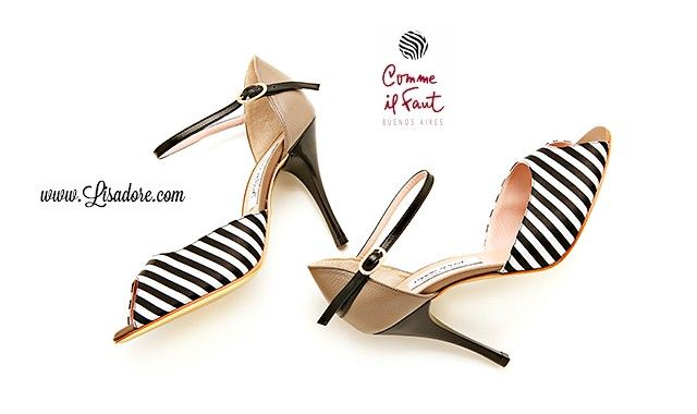 Buy Comme il Faut Shoes Exclusive Handmade Argentina Tango Shoes. Worlds Finest Collection of High Heel Comme il Faut Shoes Available at Lisadore.com