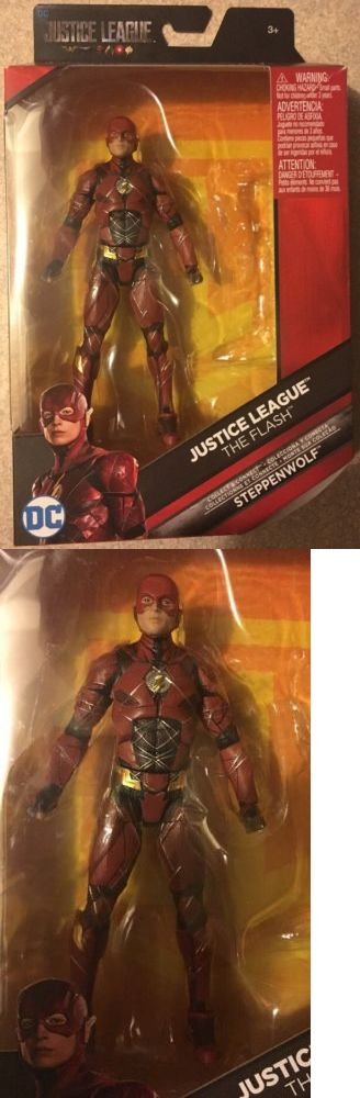 Comic Book Heroes 158671: Dc Comics Multiverse 2017 Justice League The Flash 6 ***No Baf Steppenwolf*** -> BUY IT NOW ONLY: $32.5 on eBay!