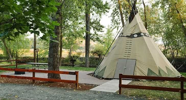 Two Reservable Tepees 39 At Clyde Holliday State