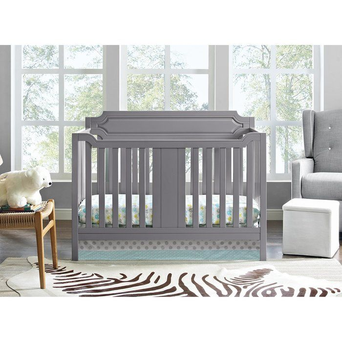 This Elinor 2-in-1 Convertible Crib was inspired by transitional design. Its straight lines, gentle curves and sturdy wood construction with a cool finish represents the perfect combination of both traditional and contemporary design, this allows you to create a nursery room that is both warm and welcoming. Classic yet comfortable, this convertible crib comes equipped with 4 adjustable mattress positions that will allow you to adjust the height to grow with your baby. In addition, once your…