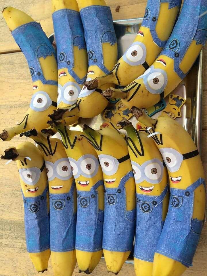 Banana Minion, gezonde afscheidstraktatie BSO