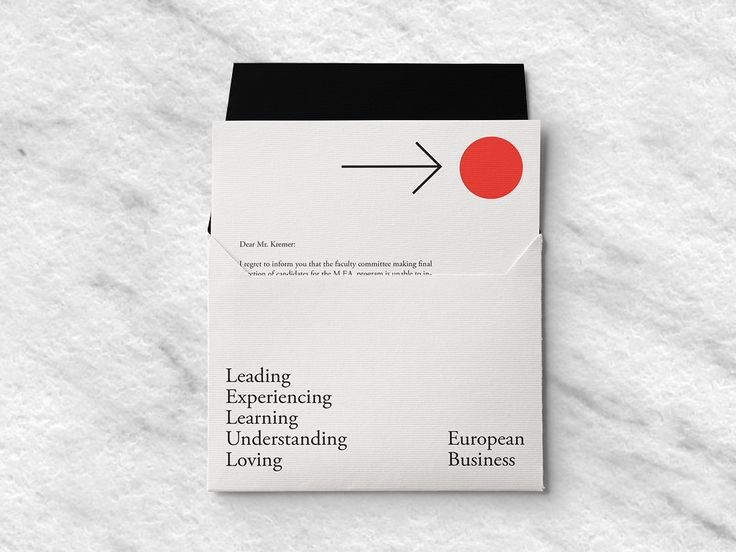Unused branding concept for European Business Sutdies at the »OTH« University of…