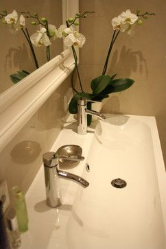 Bathroom Trough Sink Double Faucet : Trough sink Our bathroom isnt really big enough for double sinks ...