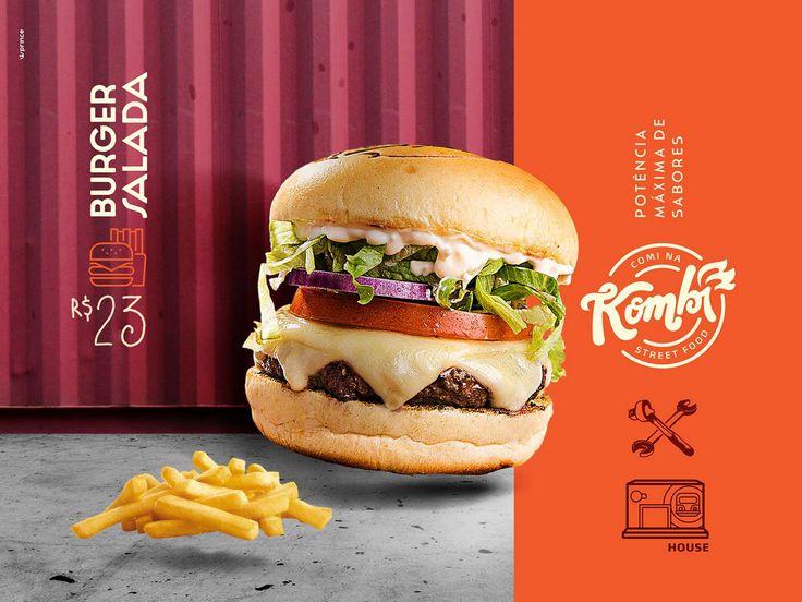 Postagens para a fanpage da hamburgueria Comi na Kombi