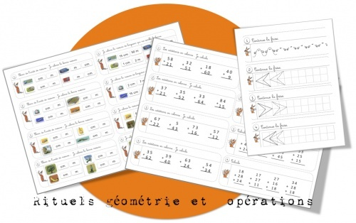 Rituels géométrie et maths ....suite