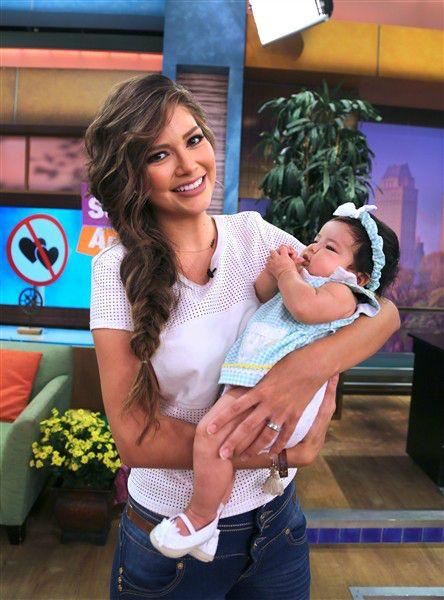 Ana Patricia Gámez se enteró a siete meses de casada que estaba embarazada. La niña, llamada Giulietta, nació el 5 de mayo en un hospital de Miami Beach, Florida, Estados Unidos. Pesó al nacer 6 libras y 11 onzas.