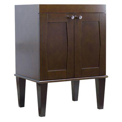 """Red Barrel Studio Kimmell Floor Mount 48"""" Single Bathroom Vanity Set"""
