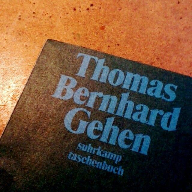 Thomas Bernhard: Gehen #leselawine #litmuc13