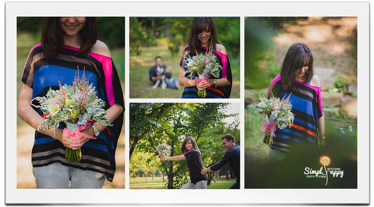 Free style bouquet for a Simply Happy Save the Date Photo Shooting www.simplyhappy.ro www.facebook.com/faitamain