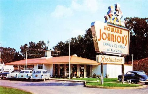 Charlotte-NC-Howard-Johnsons-Ice-Cream-Drive-In-Restaurant-Old-Cars-Photograph