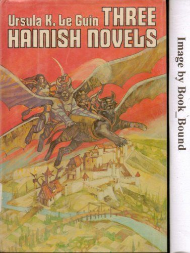 Three Hainish novels by Ursula K Le Guin http://www.amazon.com/dp/B0006RJ6ZW/ref=cm_sw_r_pi_dp_hEeXub1XQMQP7