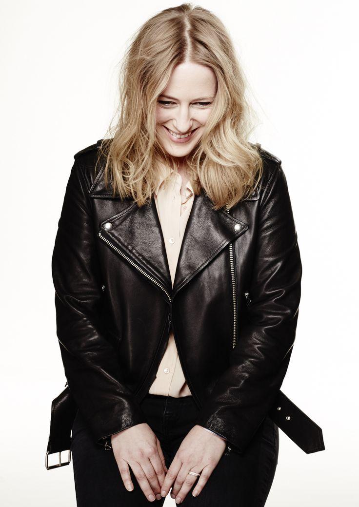 Alexa Peng x Couch Magazine x Blond x Acne Mape Leather Jacket