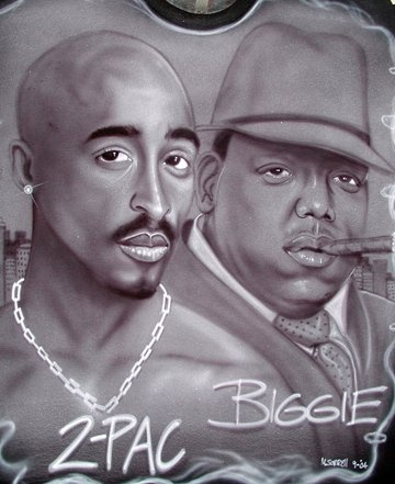 2pac and Biggie Smalls