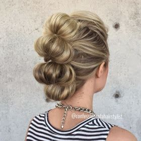 Trendy mohawk updos! Photo gallery