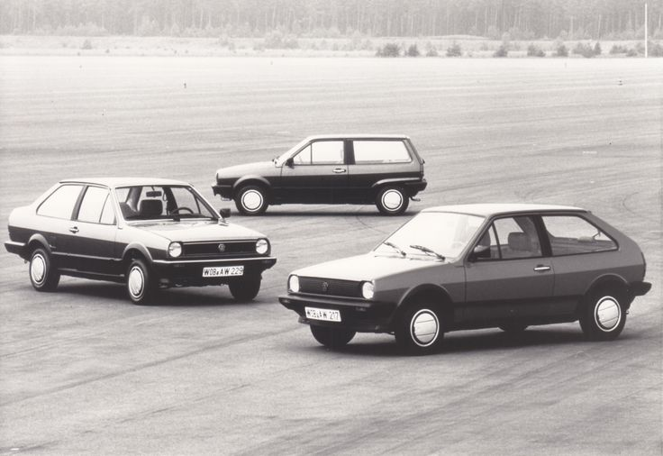 VW Polo model range (1986)