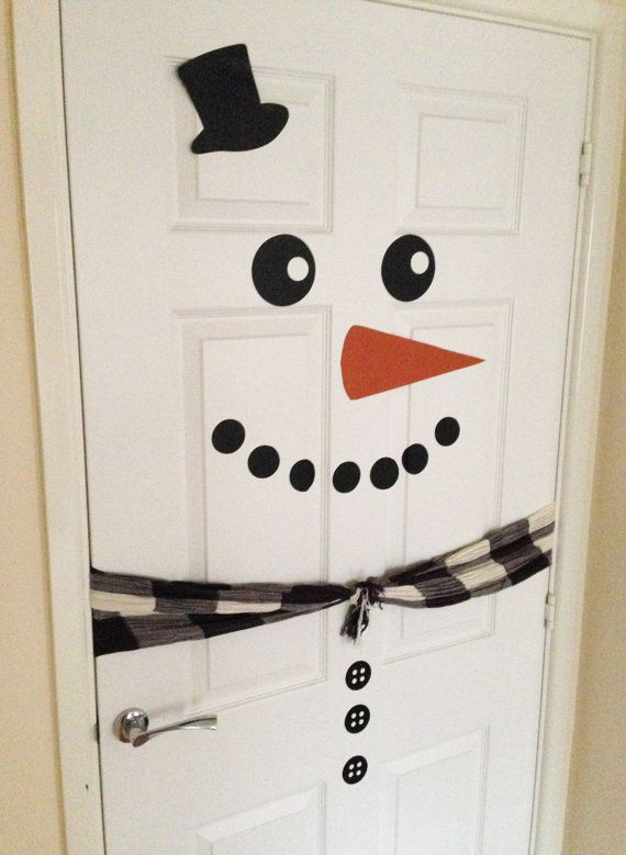Best 25+ Snowman door ideas on Pinterest | DIY Christmas ...